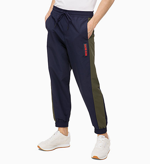 CALVIN KLEIN Tracksuit Bottoms - EVENING BLUE - CALVIN KLEIN SPORT - main image