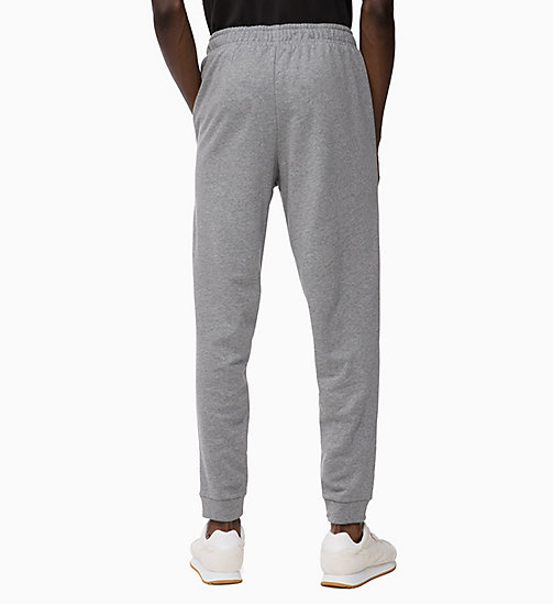 CALVINKLEIN Pantalon de jogging avec logo - MEDIUM GREY HEATHER - CALVIN KLEIN Détente - image détaillée 1