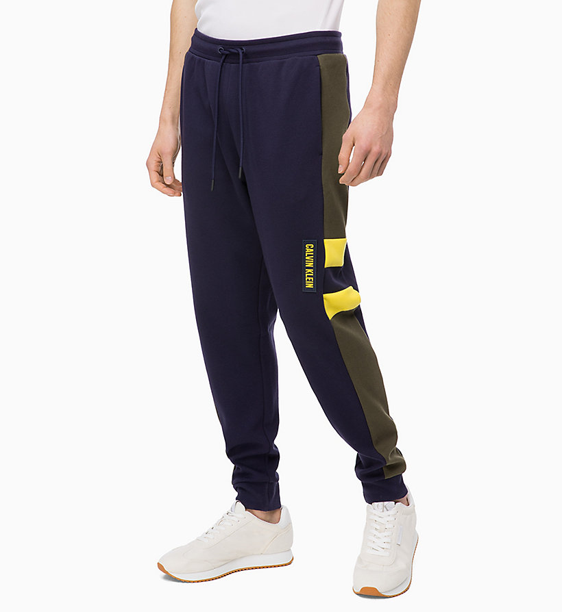 CALVIN KLEIN Tracksuit Bottoms - TRIPLE BLACK - CALVIN KLEIN PERFORMANCE - main image