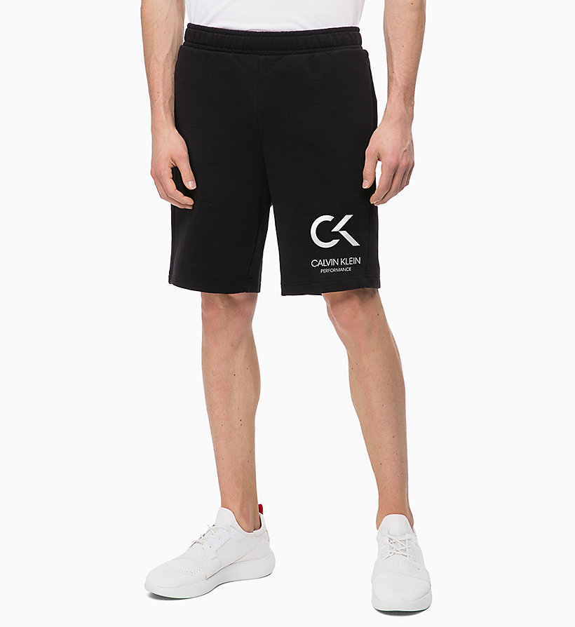 CALVIN KLEIN Shorts - EVERGREEN - CALVIN KLEIN PERFORMANCE - main image