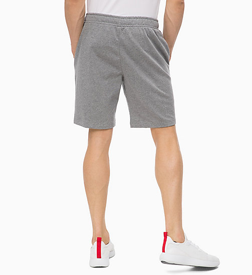 CALVINKLEIN Shorts - MEDIUM GREY HEATHER - CALVIN KLEIN Hangout - main image 1