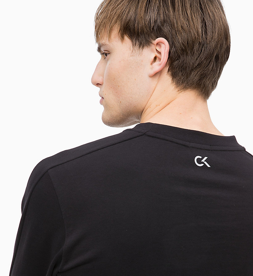 CALVIN KLEIN Logo Sweatshirt - FOREST NIGHT? - CALVIN KLEIN PERFORMANCE - detail image 3