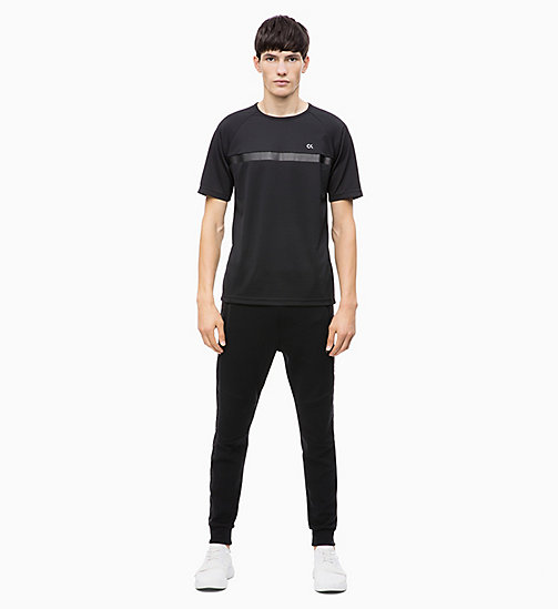 CALVIN KLEIN T-shirt - CK BLACK - CALVIN KLEIN NEW FOR MEN - detail image 1