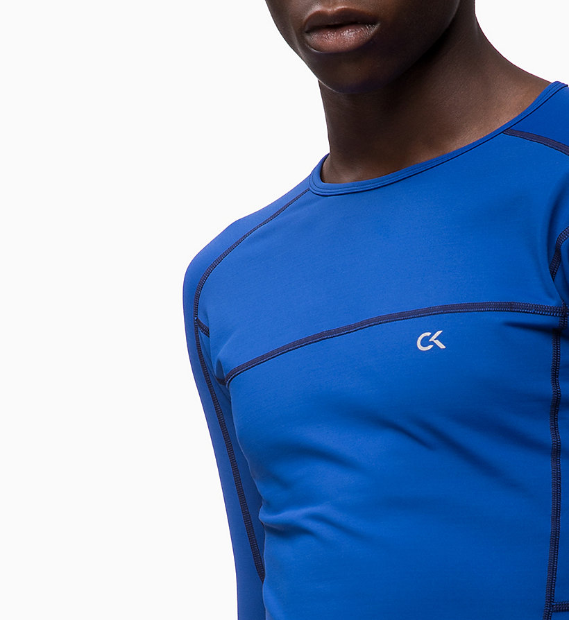 CALVIN KLEIN Compression Long Sleeve Top - CK BLACK - CALVIN KLEIN PERFORMANCE - detail image 2