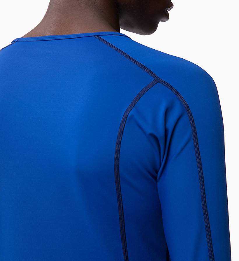 CALVIN KLEIN Compression Long Sleeve Top - CK BLACK - CALVIN KLEIN PERFORMANCE - detail image 3