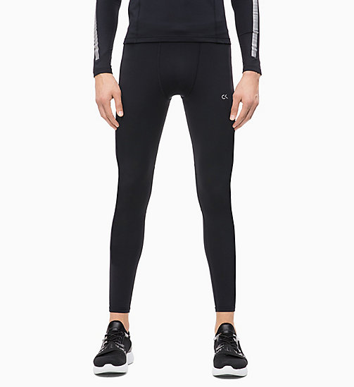 CALVIN KLEIN Compression Performance Tights - CK BLACK - CALVIN KLEIN NEW FOR MEN - main image