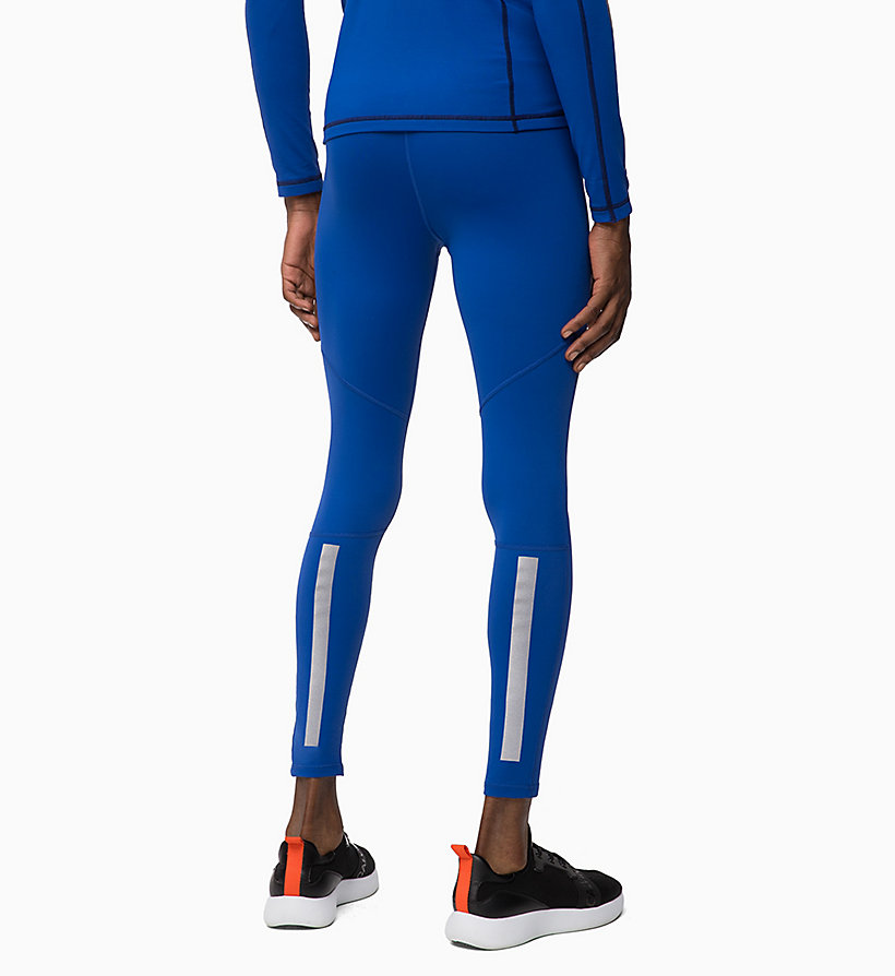 CALVIN KLEIN Compression Performance Tights - CK BLACK - CALVIN KLEIN PERFORMANCE - detail image 1
