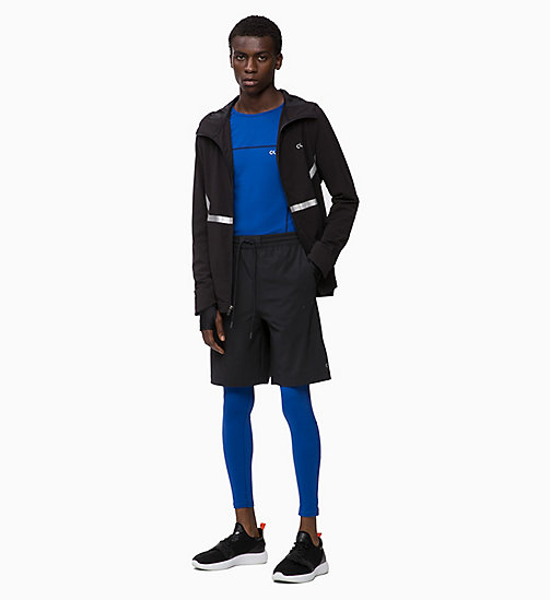 CALVIN KLEIN Compression Performance Tights - MAZARINE BLUE - CALVIN KLEIN NEW FOR MEN - detail image 1