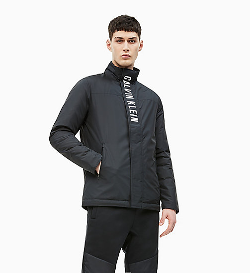 CALVIN KLEIN Padded Down Jacket - CK BLACK/BLACK - CALVIN KLEIN NEW FOR MEN - main image