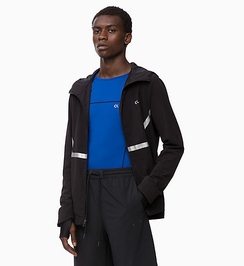 CALVIN KLEIN Reflective Windbreaker - CK BLACK - CALVIN KLEIN NEW IN - main image