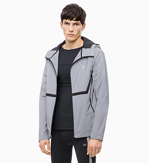 CALVIN KLEIN Reflective Windbreaker - REFLECTIVE - CALVIN KLEIN NEW FOR MEN - main image