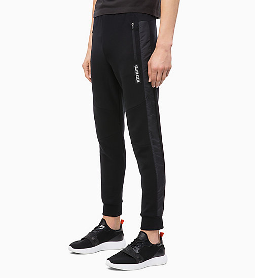 CALVIN KLEIN Joggers - CK BLACK - CALVIN KLEIN NEW FOR MEN - main image