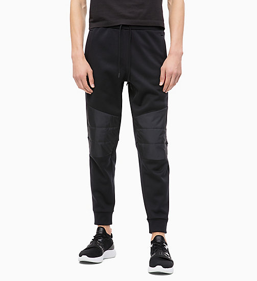 CALVIN KLEIN Padded Joggers - CK BLACK - CALVIN KLEIN NEW INS - main image