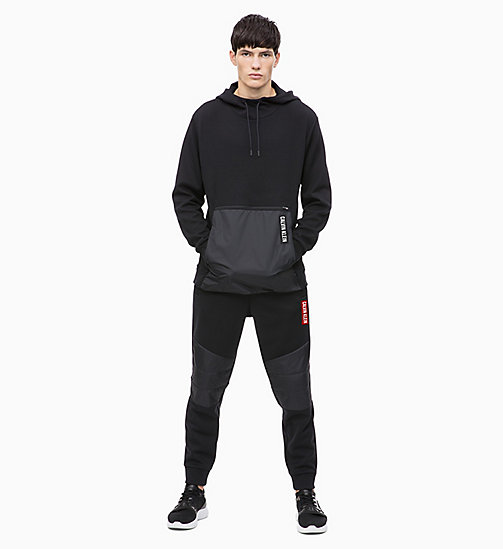 CALVIN KLEIN Pullover Hoodie - CK BLACK - CALVIN KLEIN NEW FOR MEN - detail image 1