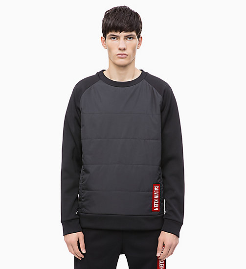 CALVIN KLEIN Padded Pullover - CK BLACK - CALVIN KLEIN NEW INS - main image