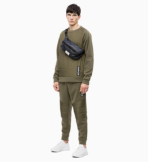 CALVIN KLEIN Padded Pullover - OLIVE NIGHT - CALVIN KLEIN NEW INS - detail image 1