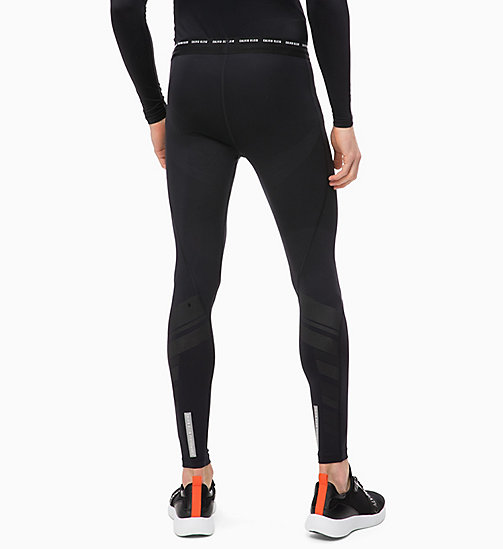 CALVINKLEIN Compression Performance Tights - CK BLACK - CALVIN KLEIN WORKOUT - detail image 1