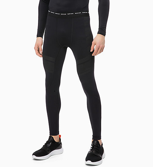 CALVIN KLEIN Compression Performance Tights - CK BLACK - CALVIN KLEIN SPORT - main image