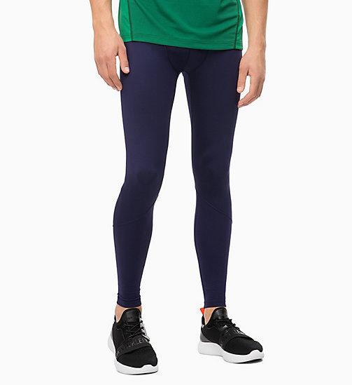 CALVIN KLEIN Performance Tights - EVENING BLUE - CALVIN KLEIN SPORT - main image