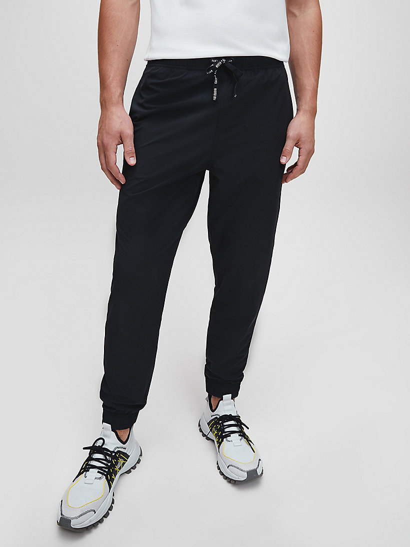CALVIN KLEIN Tracksuit Bottoms - DRESS BLUE - CALVIN KLEIN PERFORMANCE - main image