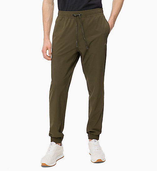 CALVIN KLEIN Tracksuit Bottoms - FOREST NIGHT - CALVIN KLEIN SPORT - main image
