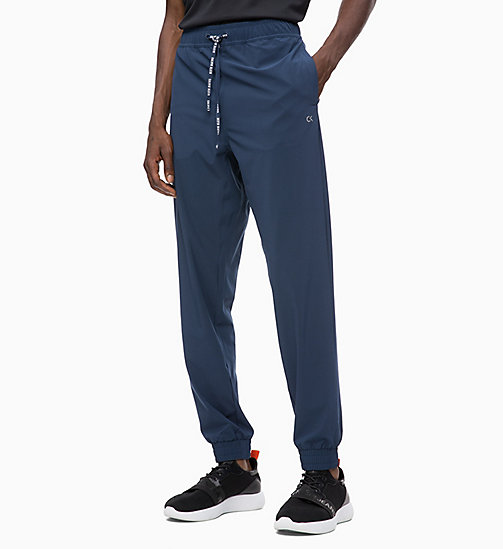 CALVIN KLEIN Tracksuit Bottoms - DRESS BLUE - CALVIN KLEIN SPORT - main image