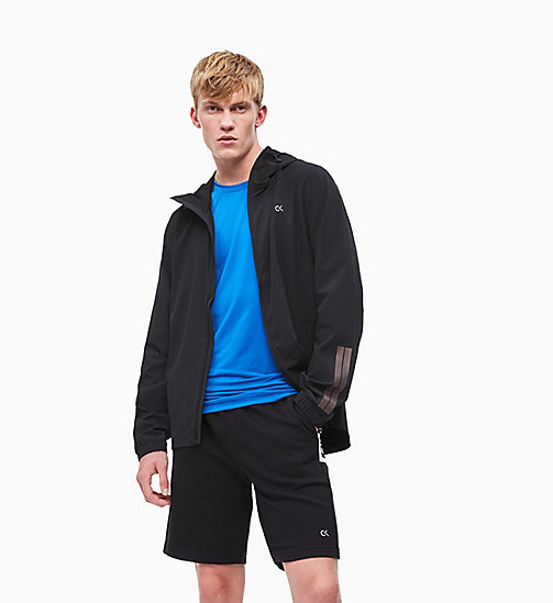 CALVIN KLEIN Packable Reflective Windbreaker - CK BLACK - CALVIN KLEIN NEW INS - main image