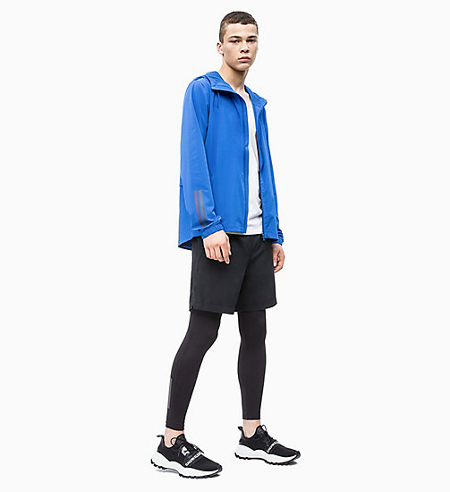 CALVIN KLEIN Packable Reflective Windbreaker - NAUTICAL BLUE - CALVIN KLEIN NEW INS - detail image 1