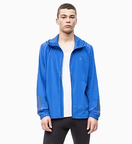 CALVIN KLEIN Packable Reflective Windbreaker - NAUTICAL BLUE - CALVIN KLEIN NEW INS - main image
