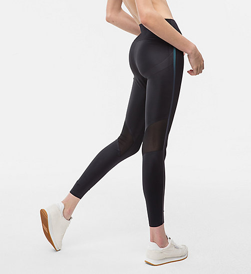 CALVINKLEIN Sport-Leggings mit Lifting-Effekt - CK BLACK - CALVIN KLEIN Sport-Leggings - main image 1