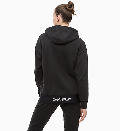 CALVINKLEIN Zip Through Hoodie - CK BLACK - CALVIN KLEIN NEW FOR WOMEN - detail image 1