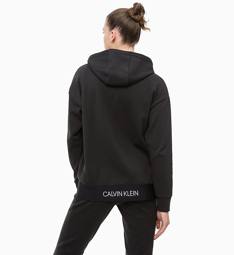 CALVIN KLEIN Zip Through Hoodie - FOREST NIGHT? - CALVIN KLEIN PERFORMANCE - detail image 1