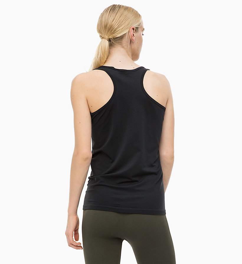 CALVINKLEIN Logo Tank Top - FOREST NIGHT - CALVIN KLEIN PERFORMANCE - detail image 1