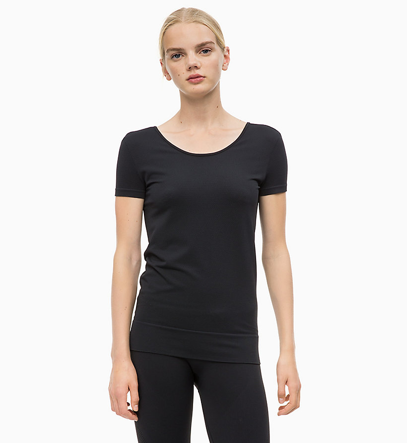 CALVIN KLEIN Logo T-shirt - FOREST NIGHT? - CALVIN KLEIN PERFORMANCE - main image
