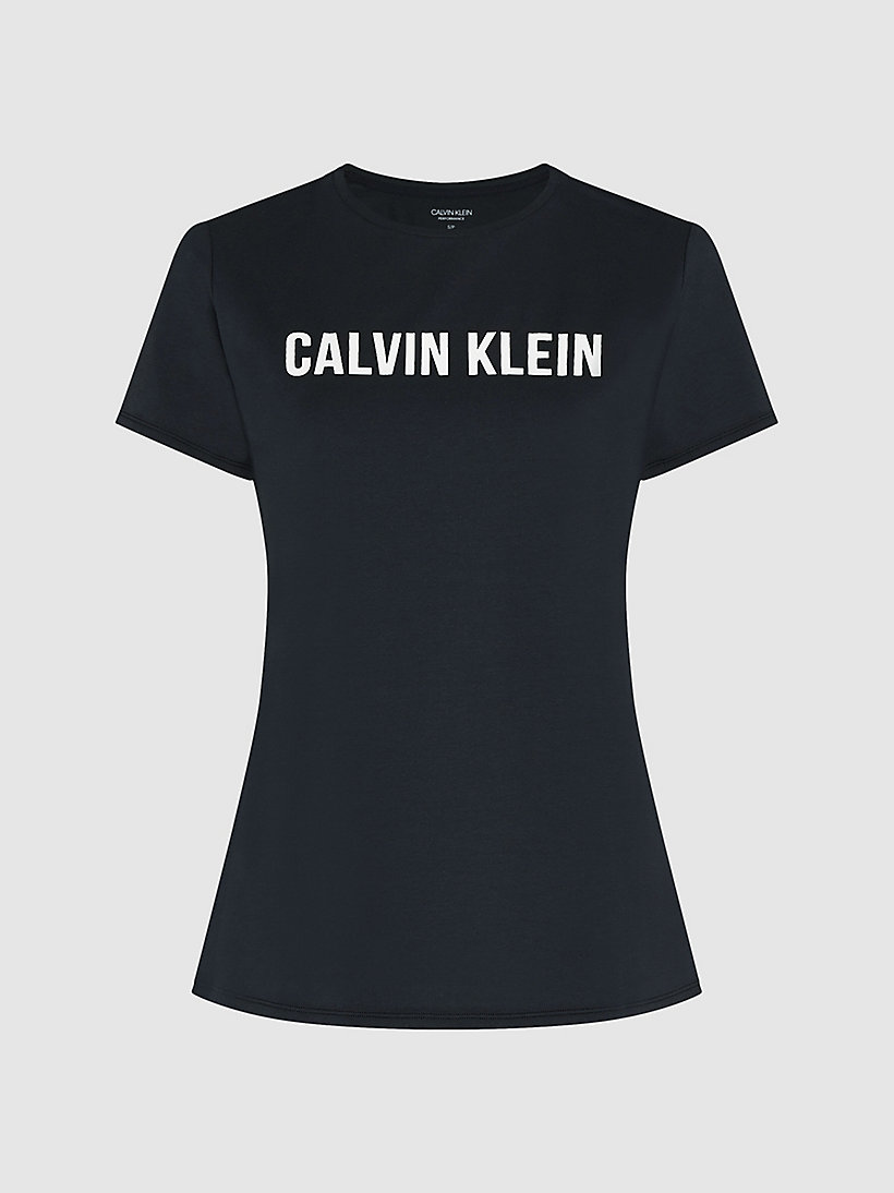 CALVIN KLEIN Logo-T-Shirt - BRIGHT WHITE - CALVIN KLEIN PERFORMANCE - main image 4