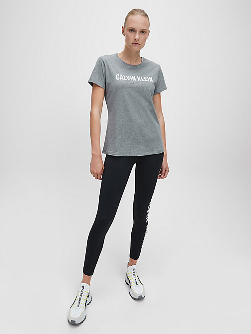 CALVINKLEIN Logo T-shirt - MEDIUM GREY HEATHER - CALVIN KLEIN SPORT - detail image 1