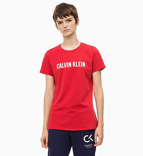 Camisetas deportivas de mujer   CALVIN KLEIN PERFORMANCE 27cc2afb09