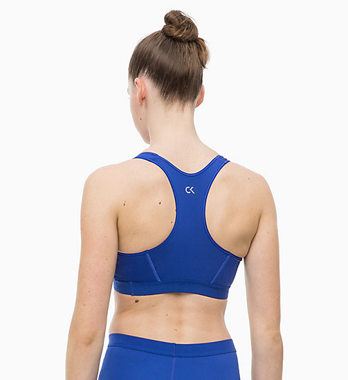 CALVINKLEIN High Impact Racerback Sports Bra - SURF THE WEB - CALVIN KLEIN SPORT - detail image 1