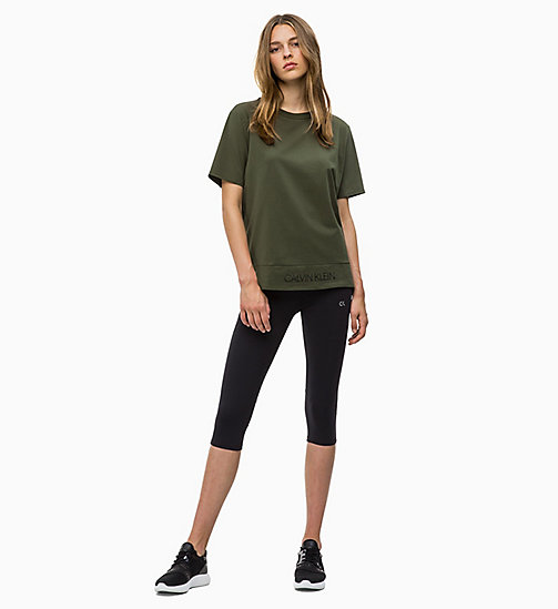 CALVIN KLEIN T-Shirt - FOREST NIGHT - CALVIN KLEIN SPORT - main image 1