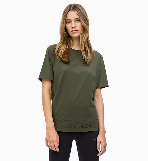 CALVIN KLEIN T-Shirt - FOREST NIGHT - CALVIN KLEIN SPORT - main image