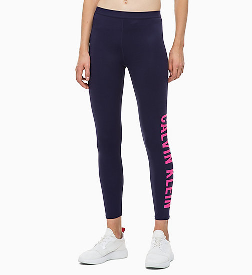 CALVIN KLEIN Sports Leggings - EVENING BLUE - CALVIN KLEIN SPORT - main image