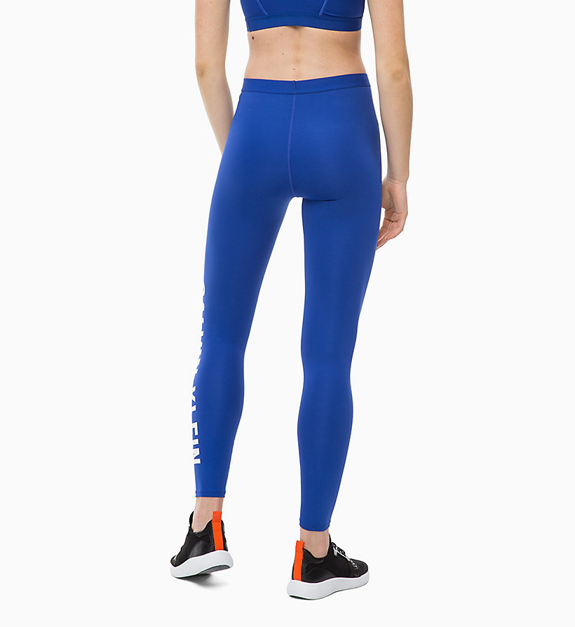 CALVIN KLEIN Sports Leggings - CK BLACK - CALVIN KLEIN PERFORMANCE - detail image 1