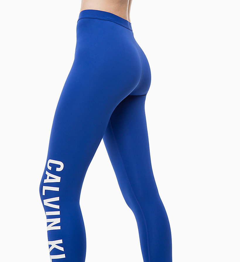 CALVIN KLEIN Sports Leggings - CK BLACK - CALVIN KLEIN PERFORMANCE - detail image 3