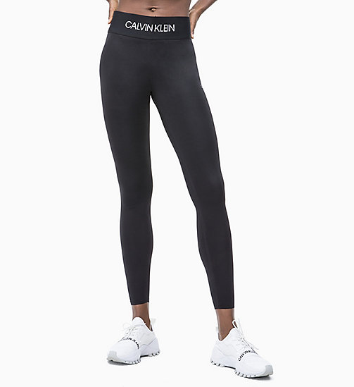 CALVIN KLEIN Lifting Sports Leggings - CK BLACK - CALVIN KLEIN SPORT - main image