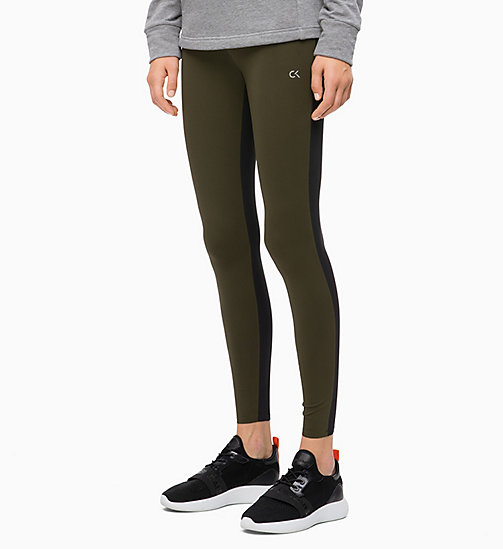 CALVINKLEIN Lifting Sports Leggings - FOREST NIGHT - CALVIN KLEIN SPORT - main image