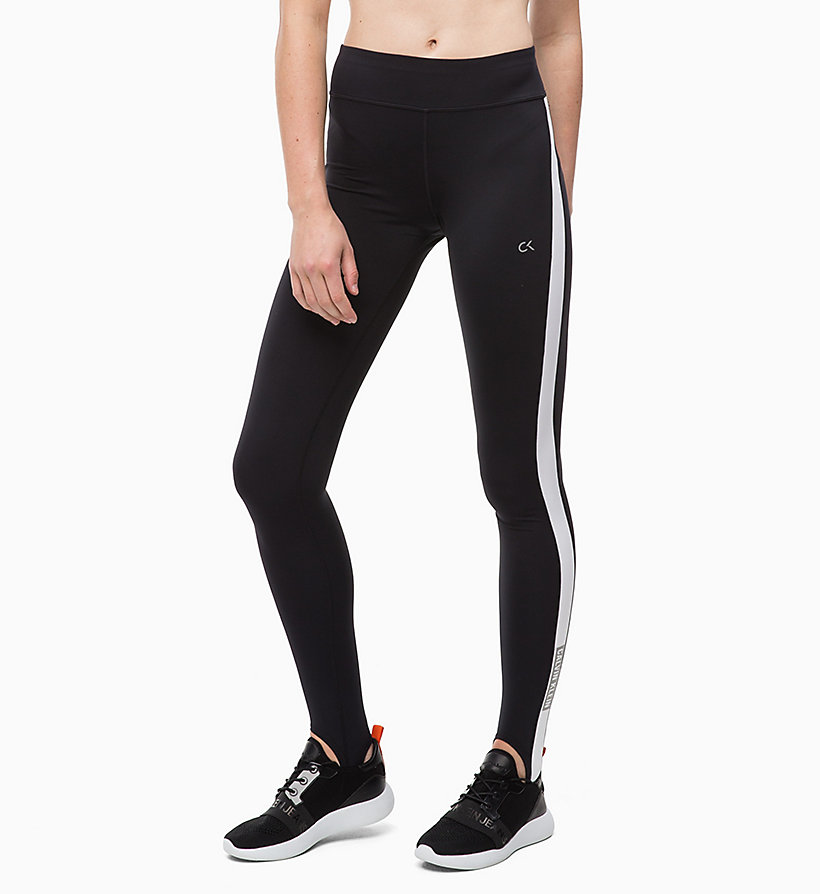 CALVIN KLEIN Stirrup Leggings - GUNMETAL - CALVIN KLEIN PERFORMANCE - main image