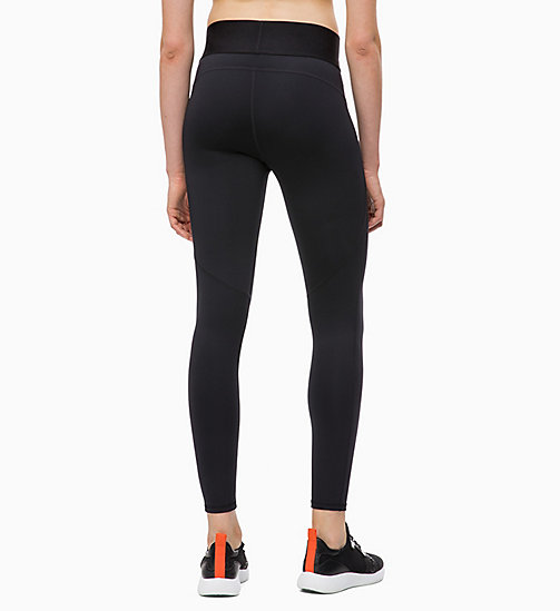 CALVINKLEIN Sports Leggings - CK BLACK - CALVIN KLEIN SPORTS LEGGINGS - detail image 1