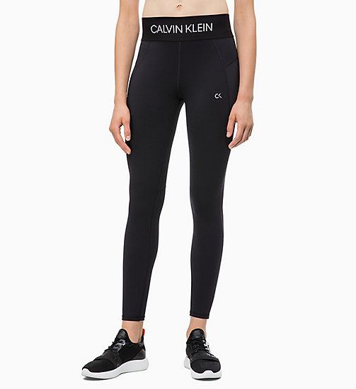 CALVIN KLEIN Sports Leggings - CK BLACK - CALVIN KLEIN SPORT - main image