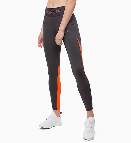 CALVINKLEIN Sports Leggings - GUN METAL - CALVIN KLEIN SPORT - main image
