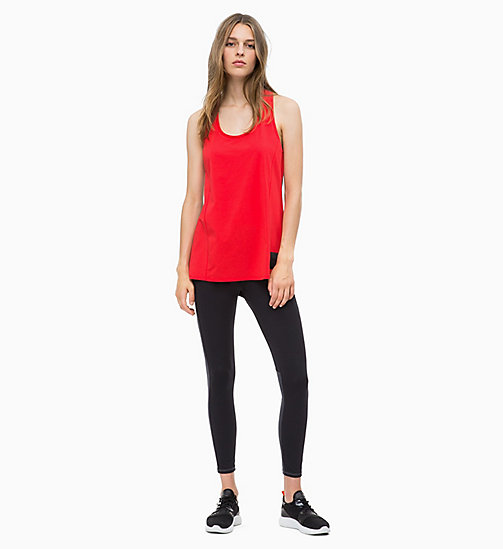 CALVIN KLEIN Cropped Sports Leggings - CK BLACK - CALVIN KLEIN SPORT - detail image 1